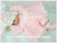 KNITTING PATTERN TO MAKE FOR BABY/REBORN GIRL  0-3 MONTHS (Sweetpea)