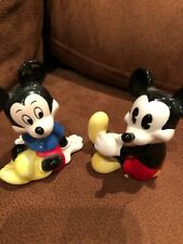 "3"" Disney Mickey and Minnie Mouse Figurines Figures Mini Statues Taiwan, Malays"
