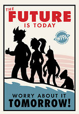 FUTURAMA POSTER - A3 SIZE 297X420MM - BUY 2 GET A 3RD FREE! (6) UK SELLER