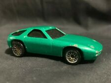Vintage 1978 Mattel Hot Wheels Porsche 928 Turbo Green Made In Mayasia 1:64 Lqqk