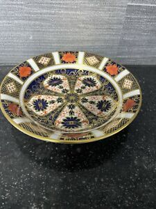 royal crown derby 1128 Old Imari Oatmeal Bowl 1st Quality