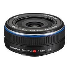 Olympus M Zuiko 17mm f 2.8 Lens For EPL1 EPL2 EPL3 EP2 EP3 PEN Original Black