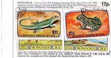 Mongolia ~ Wildlife ~ 4 Attractive Stamps issued in 1972-4.