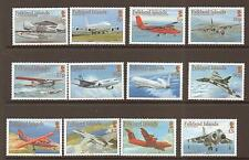 FALKLAND ISLANDS SG1096/107 2008 AIRCRAFT  MNH