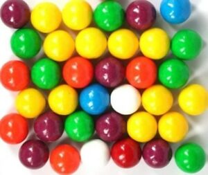 8kg GUMBALLS GUM BALL HARD CHEWY RAINBOW BULK LOLLIES CANDY BUFFET SWEETS