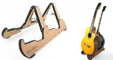 Cooperstand Pro-Tandem Folding Double Guitar Stand - African Sapele hardwood