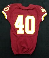 #40 No Name of Washington Redskins NFL Game Issued & Player Worn Jersey