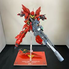 Professionally Built & Painted MG MSN-06S Sinanju