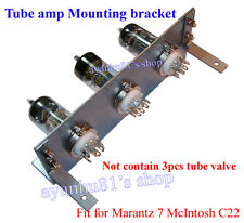 Tube Amps Mounting Bracket W/ Vacuum Tube Socket Base For Marantz 7 McIntosh C22