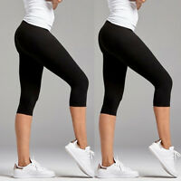 Women Sports Pants Yoga Fitness Leggings High Waist Gym Running Stretch Trousers