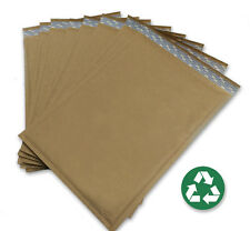 Size 5 ( 10.5x15 ) Recycled Natural Brown Kraft Bubble Mailer 100 ct (USA Made)