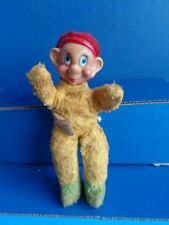 "VINTAGE 10"" DISNEY GUND ""DOPEY"" PLUSH - FOAM & RUBBER"