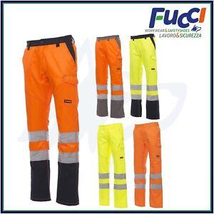 Pantaloni Alta Visibilità da lavoro Multistagione Estivi Invernali Payper