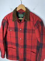 Polo Country Ralph Lauren Small Red Plaid Jacket VTG RRL Barn Coat Lumberjack