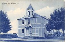 1909 Firemans Hall Westbury LI NY post card
