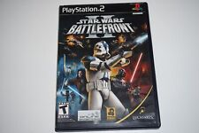 Star Wars Battlefront II ORIGINAL (Sony Playstation 2 ps2) Complete