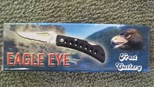 "New Frost Eagle Eye Lock Back Folding Knife 2 1/4"" Blade In Gift Box"