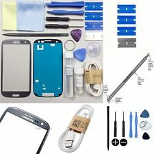 Samsung Galaxy S3 I9300 Replacement Screen Front Glass Repair Kit TITANIUM GREY