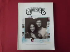 Carpenters - The Songs of . Songbook Notenbuch Piano Vocal Guitar PVG