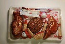 Halloween The Chop Shop Bloody Brain Heart Fingers Ears Party Decor Meat Market