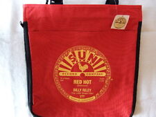 SUN RECORDS BILLY RILEY RED HOT TOTE BAG OFFICIALLY LICENSED - RED NWT