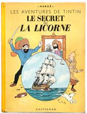 TINTIN - LE SECRET DE LA LICORNE - 1944 - A23 - BE+