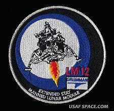 """GRUMMAN LM - 12 -  APOLLO 17 - LUNAR MODULE CHALLENGER  4"""" AB EMBLEM SPACE PATCH"""