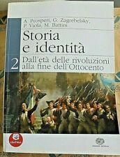 STORIA E IDENTITA' VOL.2 - A.PROSPERI G.ZAGREBELSKY e altri - EINAUDI SCUOLA