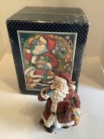 Lang & Wise Susan Winget Classic Santa Second Edition 1998 #1 Figurine