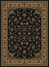 2x8 Runner Radici Black Persian Border 953 Area Rug - Approx 2' 2'' x 7' 7''