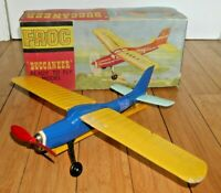 VINTAGE FROG BUCCANEER PLANE MODEL AIRCRAFT 1960's BOXED LINES BROS RARE  E765