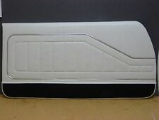 HQ GTS LS MONARO COUPE DOOR TRIMS FLAX WHITE WITH EXCHANGE TOPS