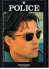 PUBLICITE ADVERTISING 054  1993  POLICE  collection solaires lunettes
