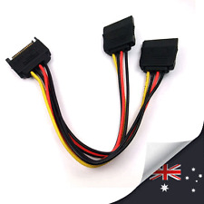 1 x SATA Power T/Y Splitter Extension Cable Adapter -NEW (N049)