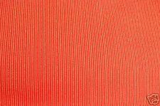 "Fabric Remnant~19"" Inches X 52 Inches~Stripes~ Bright Orange"