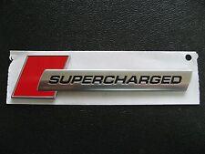 Original Audi SUPERCHARGED Schriftzug S3 S4 S5 S6 S8 R8 A3 A4 A6 A8 Q5 Q7 Q3 A1