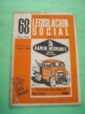 REVISTA - MAGAZINE BOLETIN DE LEGISLACION SOCIAL Nº 68