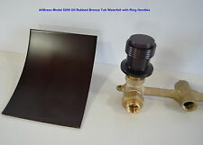 Oil Rubbed Bronze Wall Mount Tub Waterfall Faucet ORB Bathtub Sink Free Shipping