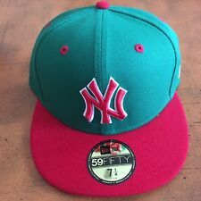 new york yankees fitted hat new era 7 1/4.