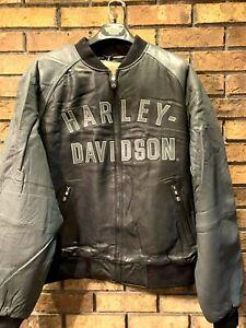 HARLEY-DAVIDSON 100th ANNIVERSARY CENTENNIAL  MENS LEATHER JACKET NEW 97402-03VM