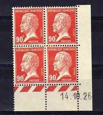 FRANCE YVERT n° 178 neuf avec charnière - bloc de 4 coin daté