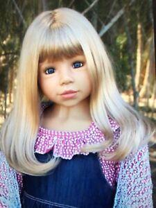 Masterpiece Dolls Gretel Blonde Wig, Fits Up To 20 Inch Head