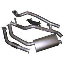 """DTS FIT Toyota Landcruiser 79 3"""" Exhaust -Suits Factory Turbo 4.2L HDJ79-EXH"""
