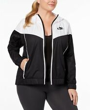 Nike Windrunner hooded Jacket Women's BLACK/WHITE- BRAND NEW-SIZE (1x PLUS SIZE)