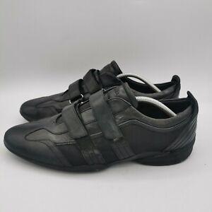Clarks Men's Flexlight Black Leather Slip On Trainer Style Shoes - Size UK 11