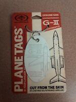 Gulfstream II Planetags / Plane Tag - Free Shipping