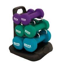 Maha Fitness Dumbell Set W/Stand-20 MF-PV20 DUMBELL NEW