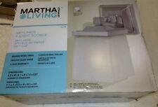 Martha Stewart Living 1-light Skylands Collection Wall Sconce