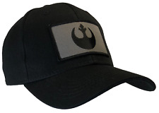 Star Wars Rebel Hat Black Ball Cap 100% Cotton Structured