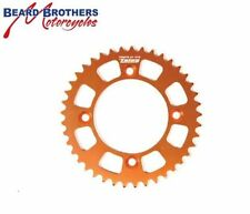 Orange Motorcycle Back Sprockets